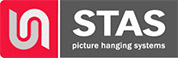 STAS picture hanging systems & picture rails